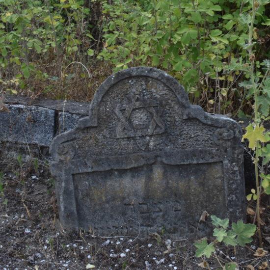 Tombstone in Subbotnik Cemetery